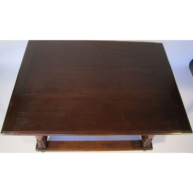 Image of Continential Table With Drawer