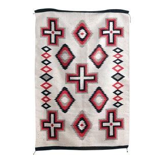 Vintage Navajo Style Rug - 4′ × 6′