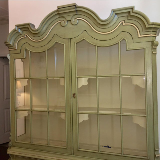 Dorothy Draper Henredon Viennese Collection Display Cabinet - Image 9 of 11