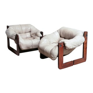 Percival Lafer Lounge Chairs - Pair
