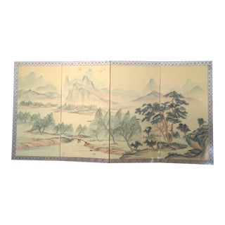 Vintage Chinese Screen