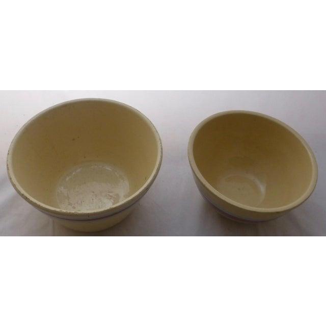 Antique Watt Nesting Mixing Bowls - Set of 5 - Image 4 of 9