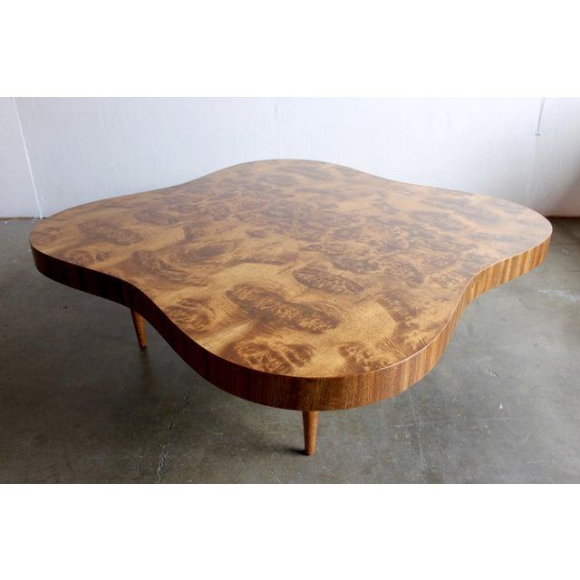 Gilbert Rohde Burl Surrealist 'Cloud' Coffee Table - Image 10 of 11