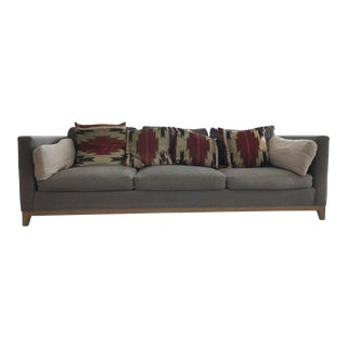 Crate & Barrel Taraval Oak Based Sofa