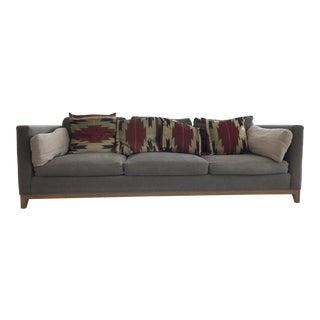 Crate & Barrel Taraval Oak Based Sofa