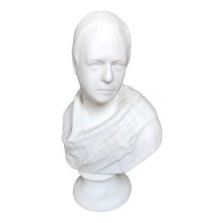 Vintage Porcelain Scottish Bust