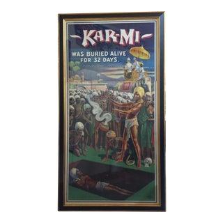 Original 1914 Kar-MI Poster