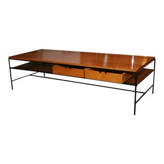 Paul McCobb Early Modernist Rectangular Cocktail Table