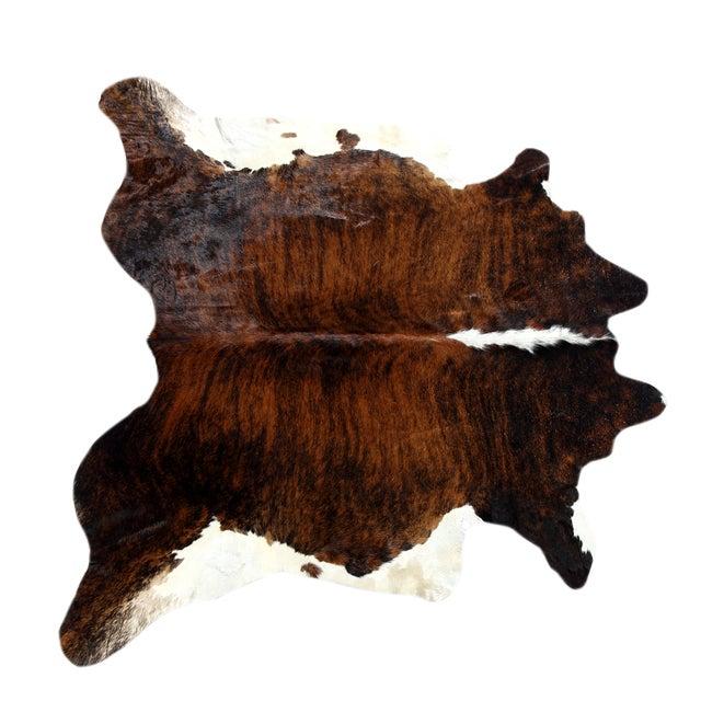 "Image of Brazilian Brown Cowhide Rug - 5'9"" x 5'11"""