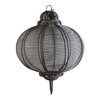 West Elm Circular Hanging Lantern