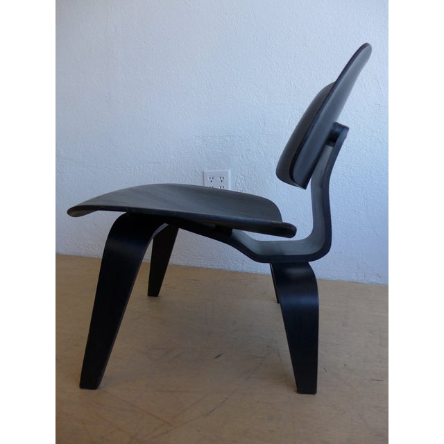 """Eames """"Lounge Chair Wood"""" Chair - Image 4 of 10"""