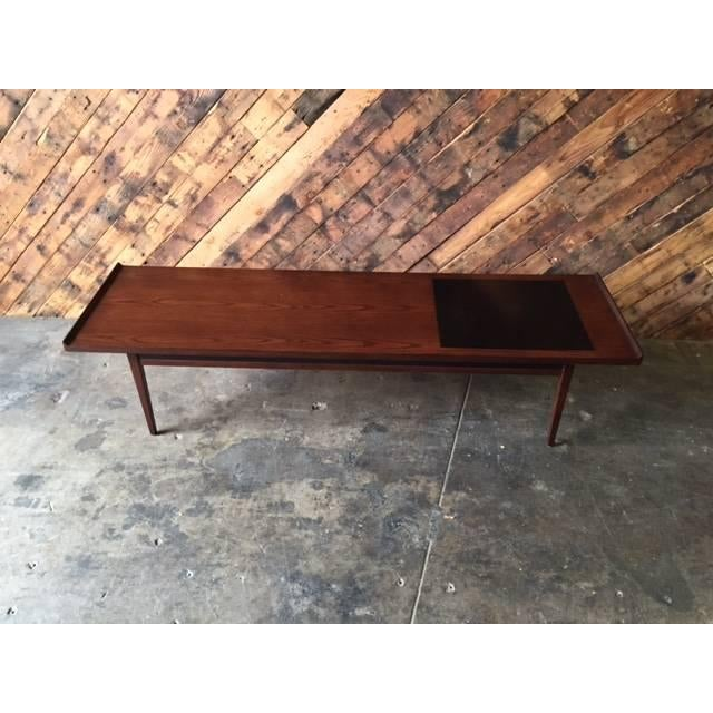 """Mid-Century Refinished """"Surfboard"""" Coffee Table - Image 5 of 5"""