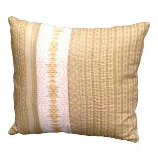 Vintage Sari Pieced Pillow