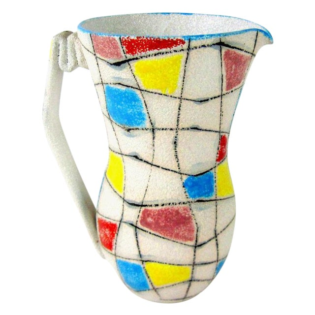 A. Londi Style Art Pottery Pitcher - Image 1 of 7