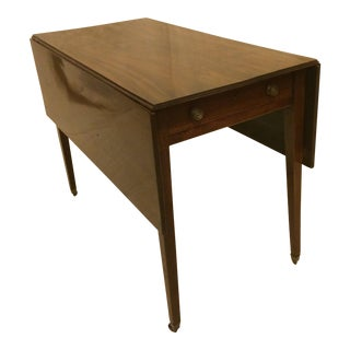Circa 1850 English Mahogany Pembroke Table