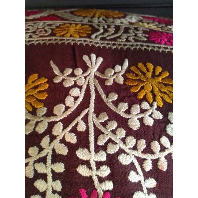 Vintage Suzani Pillow - Image 2 of 4