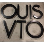 Image of Original Louis Vuitton Neon Marquee Letters - Set of 7