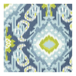 Schumacher Kiribati Ikat Print 5 1/2 Yards