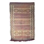 Image of Zemmour Moroccan Wool Rug - 5′1″ × 7′5″