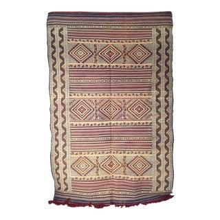 Zemmour Moroccan Wool Rug - 5′1″ × 7′5″