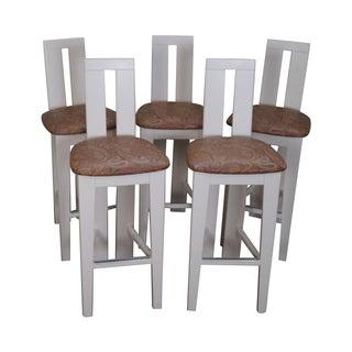 Pietro Costantini Ello Furniture Bar Stools -- Set of 5