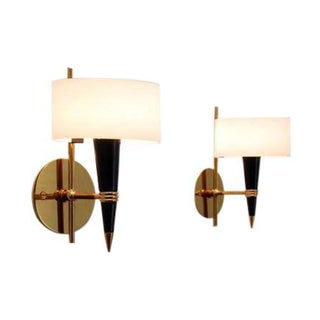 Pair of French Mid-Century Sconces