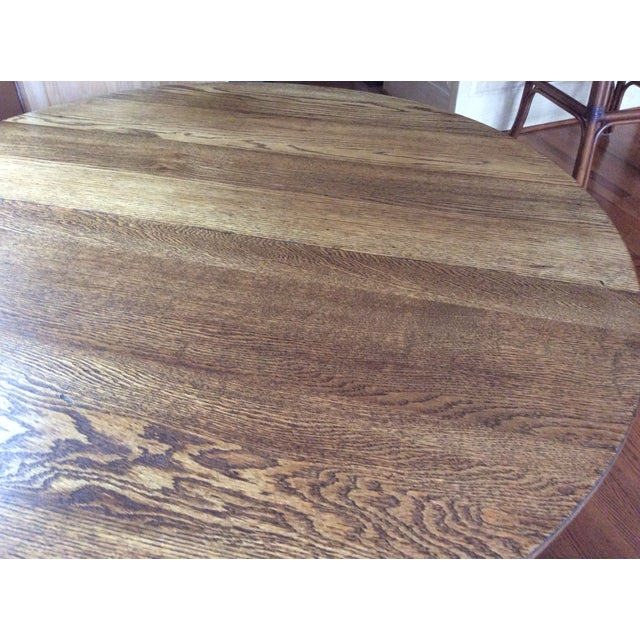Antique Claw Foot Dining Table & 4 Chairs - Image 4 of 11