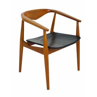 Danish Modern Teak Barrel Arm Chair