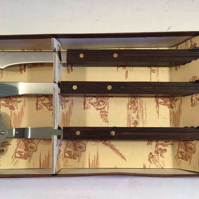 Image of Mid-Century Modern Barbecue Set - Three Pieces