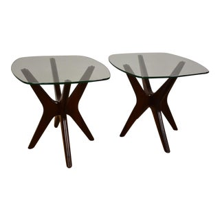 Adrian Pearsall Jacks End Tables - A Pair