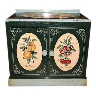 1860s Danish Decorated Cabinet & Washstand