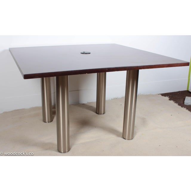 Image of Knoll Reff Square 4ft Office Conference Table
