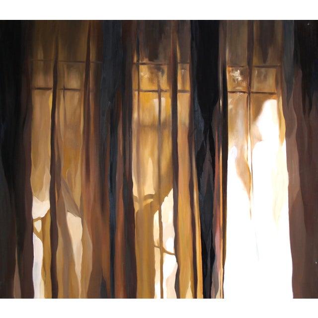 "Original ""Glimmer"" Painting by Alissa Mazzenga - Image 2 of 2"