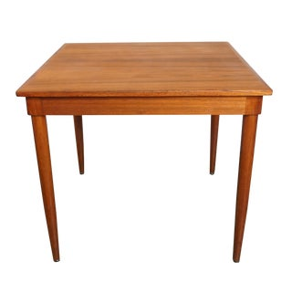 J.L. Moller Square Breakfast Table