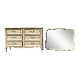 Henry Link Dresser & Mirror - A Pair