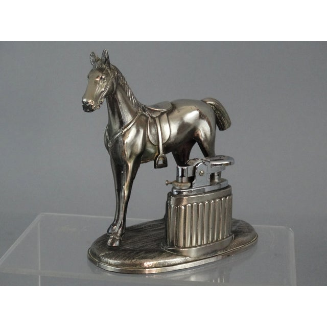 Equestrian Horse Table Lighter - Image 4 of 9