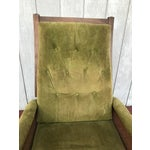 Image of Mid-Century Cane Reclining Chair