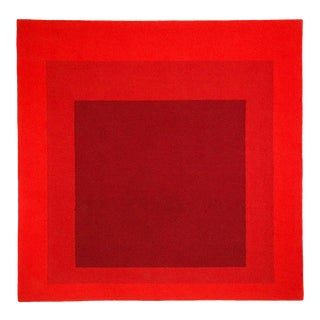 Josef Albers Homage to the Square Tapestry