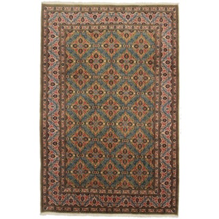 "Asian Style Persian Area Rug - 6'1"" x 10'"