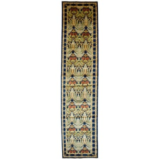 Arts & Crafts Hand Knotted Runner - 3' X 15'1""