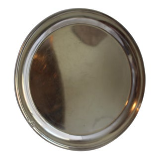 Vintage Gorham Silverplate Round Serving Tray