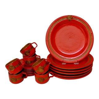 Vintage Italian Dinnerware - 18 Pieces