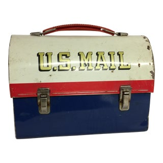 1960s U.S. Mail Zip Code Lunch Box
