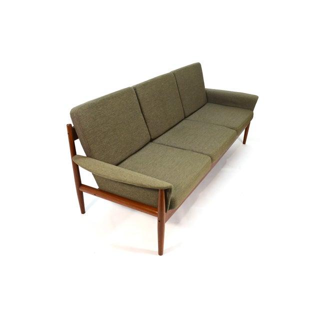 Image of Grete Jalk Sculpted Teak Sofa