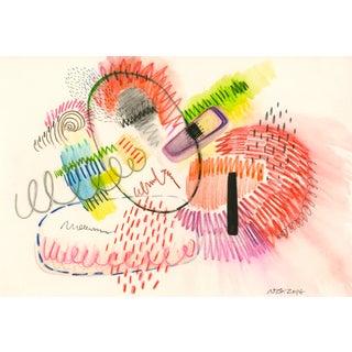 i.b.n: Abstract Expressionist Geometric Modern Art
