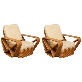 Paul Frankl Six-Strand Pretzel Loungers - A Pair