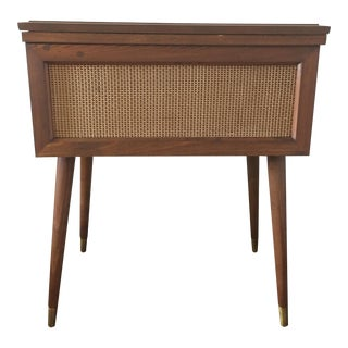 Mid Century Sewing Machine Table