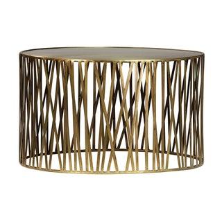 Brass Stick Round Table