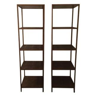 Julian Chichester University Bookshelves - A Pair