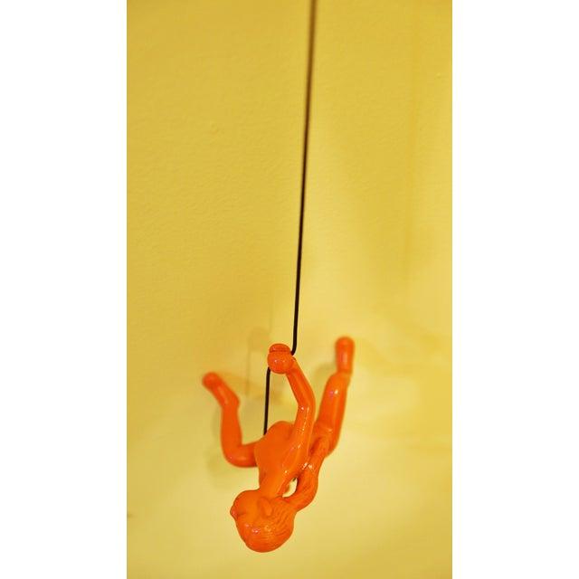 Orange Climbing Girl Wall Decor - Image 4 of 5